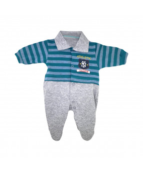 MACACÃO COMPRIDO ATHLETIC NY COLLEGE PREMATURO REF.50602 - CREEP BABY
